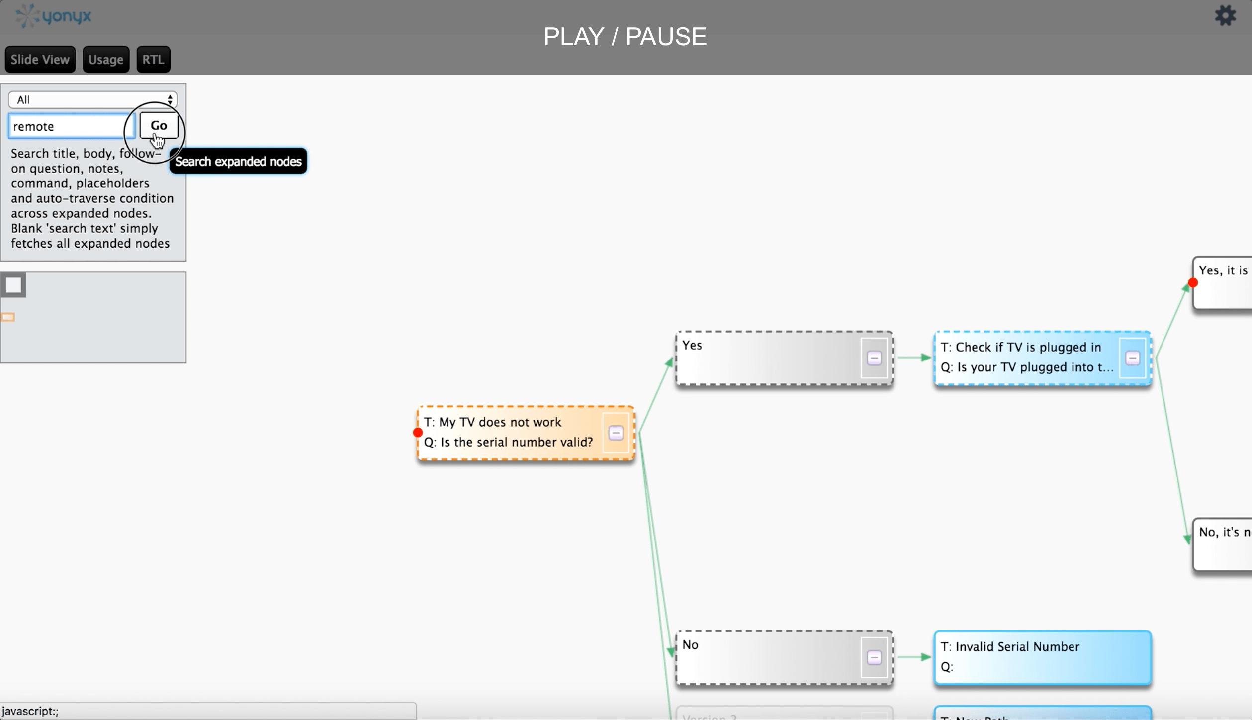 Map View Search - Yonyx